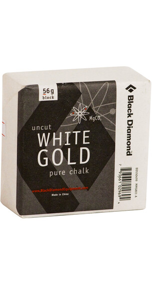 Black Diamond Solid White Gold - Block 56gr
